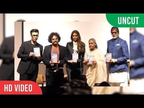Shweta Bachchan Nanda's Debut Novel Paradise Towers Launch   Amitabh Bachchan, Jaya Bachchan, Karan