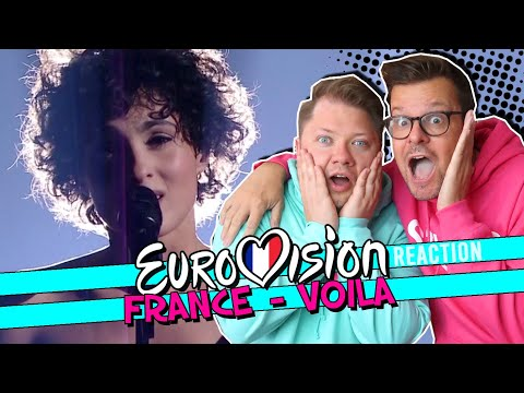 BLOWN AWAY // France Eurovision 2021 - Barbara Pravi - Voilà // ESC REACTION VIDEO // Gagnante
