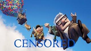 UP | Unnecessary Censorship | Censored Disney Pixar Parody Bleep Video