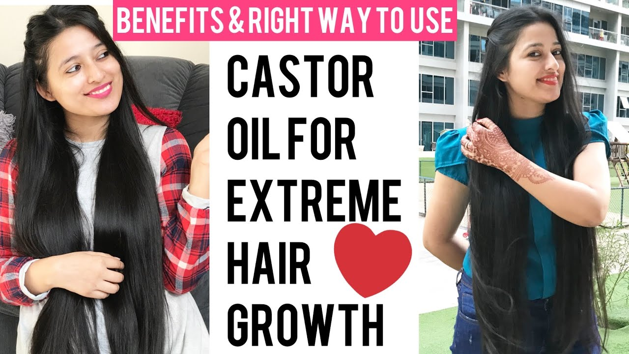 Castor Oil Helps Smoothing And Moisturizing Skin Hair