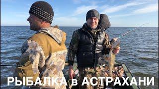 Рыбалка в Астрахани на разливах Каспийское море ноябрь 2019г щука жерех сом и другие