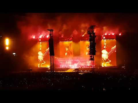 The Rolling Stones - Sympathy for the devil live Olympiastadion München 12/9/2017