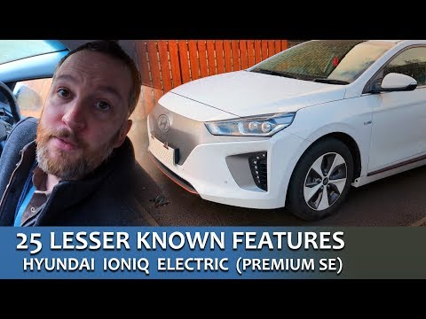 25 Lesser Known Features UK Hyundai IONIQ Electric Premium SE 4K