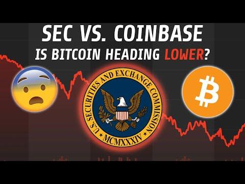 Has The Bitcoin Sell-Off Just Begun? | SEC Coinbase Crackdown