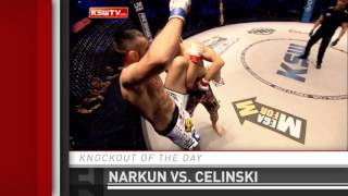 Submission of the Day: Tomasz Narkun finishes Karol Celinski at KSW 31