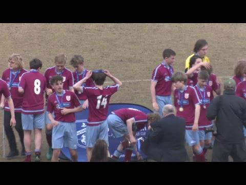 PlayStation U15 Schools' Cup for Boys St Francis Xavier's College v Little Heath School