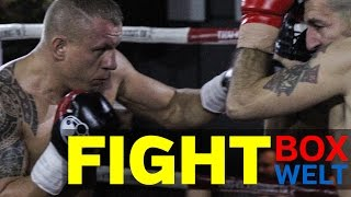 Dariusz Polmanski vs Misa Nikolic - 4 rounds Light Heavyweight - 28.12.2016 - Gildehaus Luechow