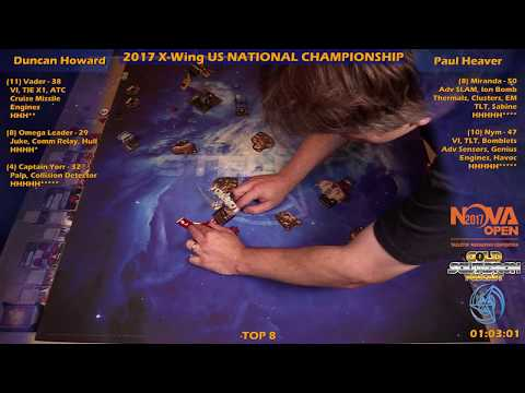 2017 X-Wing US Nationals TOP 8