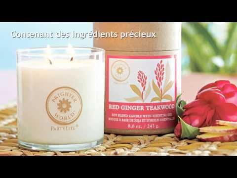 Francais PartyLite Canada Brighter World Candles
