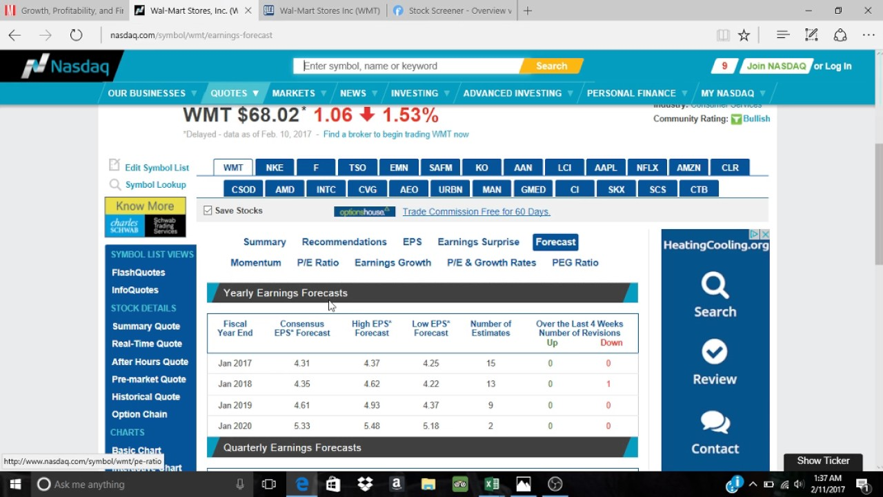 After Hours Stock Quotes Walmart Wmt Stock Prediction For 2020  Youtube