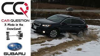 2018 Subaru Outback | Off-Road in the SNOWSAND! | Short review Part 2/6