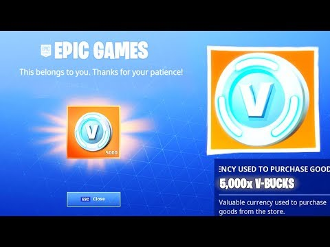YOU CAN NOW GET FREE V BUCKS IN FORTNITE!