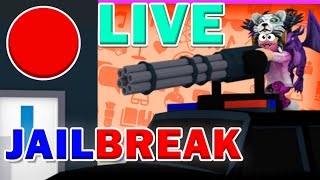 {LIVE} ROBLOX JAILBREAK STREAM! #Roadto400