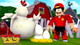 ROBLOX - THE NEW EGG FARM SIMULATOR!!