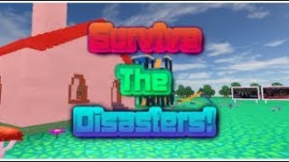 roblox survive the disasters(un zombie gigante)
