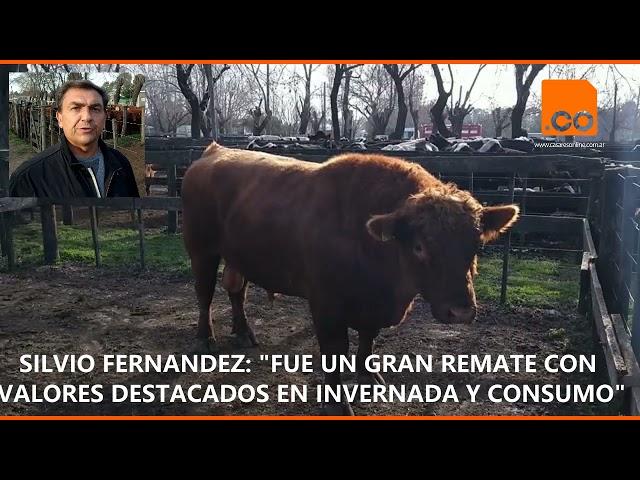 SILVIO FERNANDEZ REMATE DEL MES DE AGOSTO