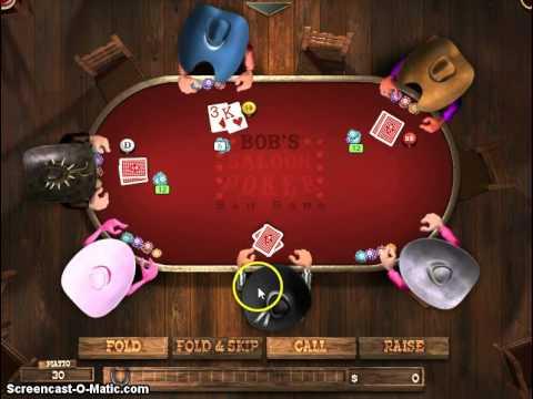 Game Solution - Governor of Poker Walkthrough