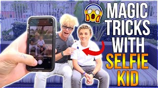 EASY Magic Tricks and Pranks REVEALED w/ Selfie Kid (Fool Your Friends!!!)