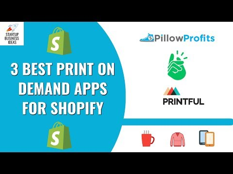 3 Best and Most Popular Print on Demand (POD) Apps for