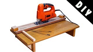 Jigsaw Cutting Station - Homemade - DIY - Jigsaw Guide