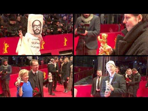 Berlinale-Gala: Bären-starke Frauen und komische Mützen
