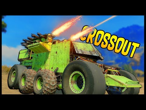 Crossout - DUAL HAMMERFALL SHOTGUN Gameplay & Free For All Mode - Crossout gameplay