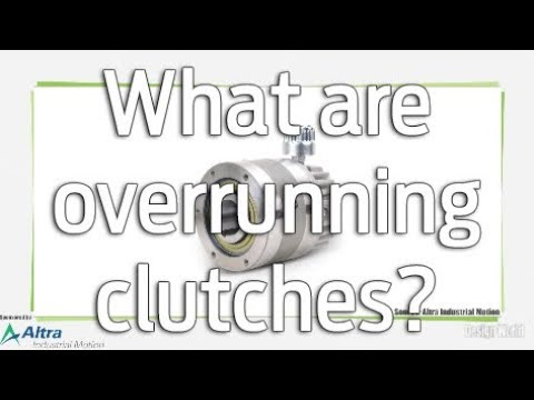 What are overrunning clutches?