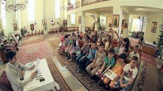 Перше причастя, уроки Божої науки - Новий Розділ, церква Святителя Миколая 2016р.