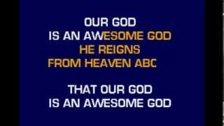 Awesome God karaoke