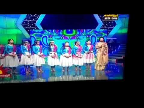 Kala Master With Nattiyakalalayam Choreographer Maria Prakash