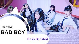 Red Velvet  - Bad Boy [ BASS BOOSTED ] 🎧 🎵