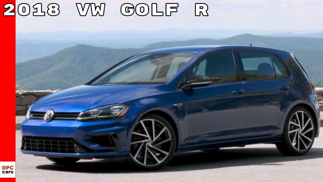 2018 Vw Golf R Us Spec Youtube