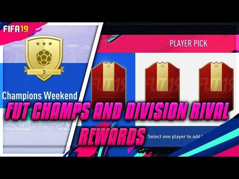 FUT Champs & Division Rival Rewards Live - What TOTS Pick Are We Getting??  #4 DC'd - Fifa 19