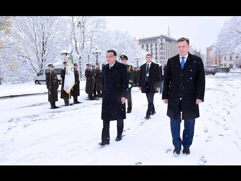 The first official visit by a Chinese premier to Latvia