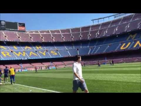 Beko #Time2Play football competition match at Camp Nou!