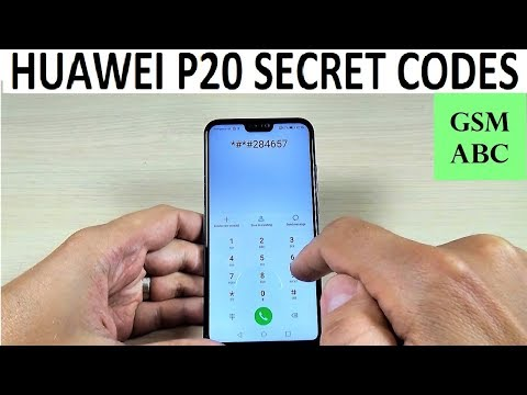 SECRET CODES Huawei P20, Lite & Pro - YouTube