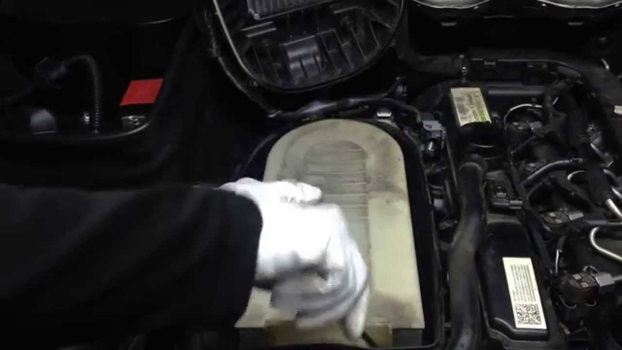Mercedes Benz Glk Luftfilter Wechseln Erneuern