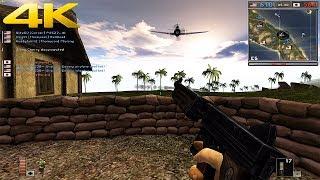 Battlefield 1942 Multiplayer 2018 4K 60fps (Guadalcanal)
