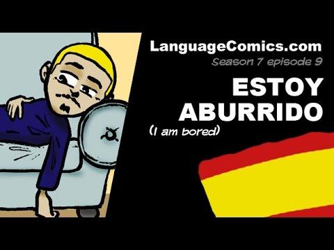Spanish cartoon with English subles ~ S7e9 Estoy urrido