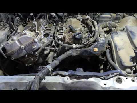 Ремонтируем двигатель 3GR FSE Лексус GS300 2006 года Lexus GS 300 1 ЧАСТЬ