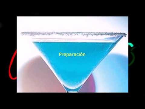 Como preparar el coctel Blue Margarita