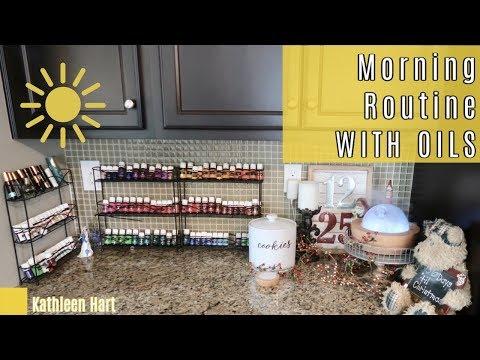 Essential Oils 101 | MORNING ROUTINE | Kathleen Hart