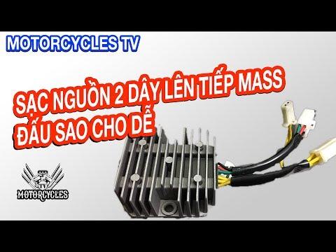 Video 57 Daỵ Sửa Xe: Phần 5 Hệ Thống Sạc Xe Gắn Máy Nguồn 2 Dây Lên Có Mas | Motorcycles TV
