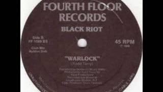 Black Riot - Warlock (Rubber Dub)