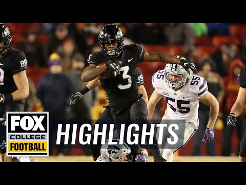 Iowa State vs Kansas State | FOX COLLEGE FOOTBALL HIGHLIGHTS