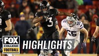 Iowa State vs Kansas State | FOX COLLEGE FOOTBALL HIGHLIGHTS