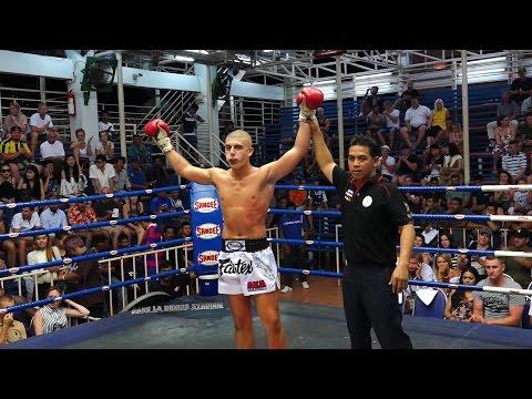 Alexi Mourad AKA Thailand vs. Looktum Sor Sakulkaew at Bangla Boxing Stadium - Phuket - Thailand