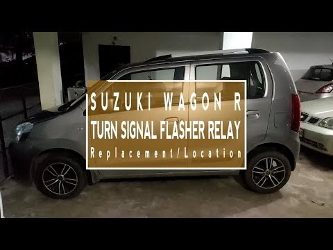 How to Remove, Replace & Location of Suzuki Wagon R Turn Signal Relay Assy