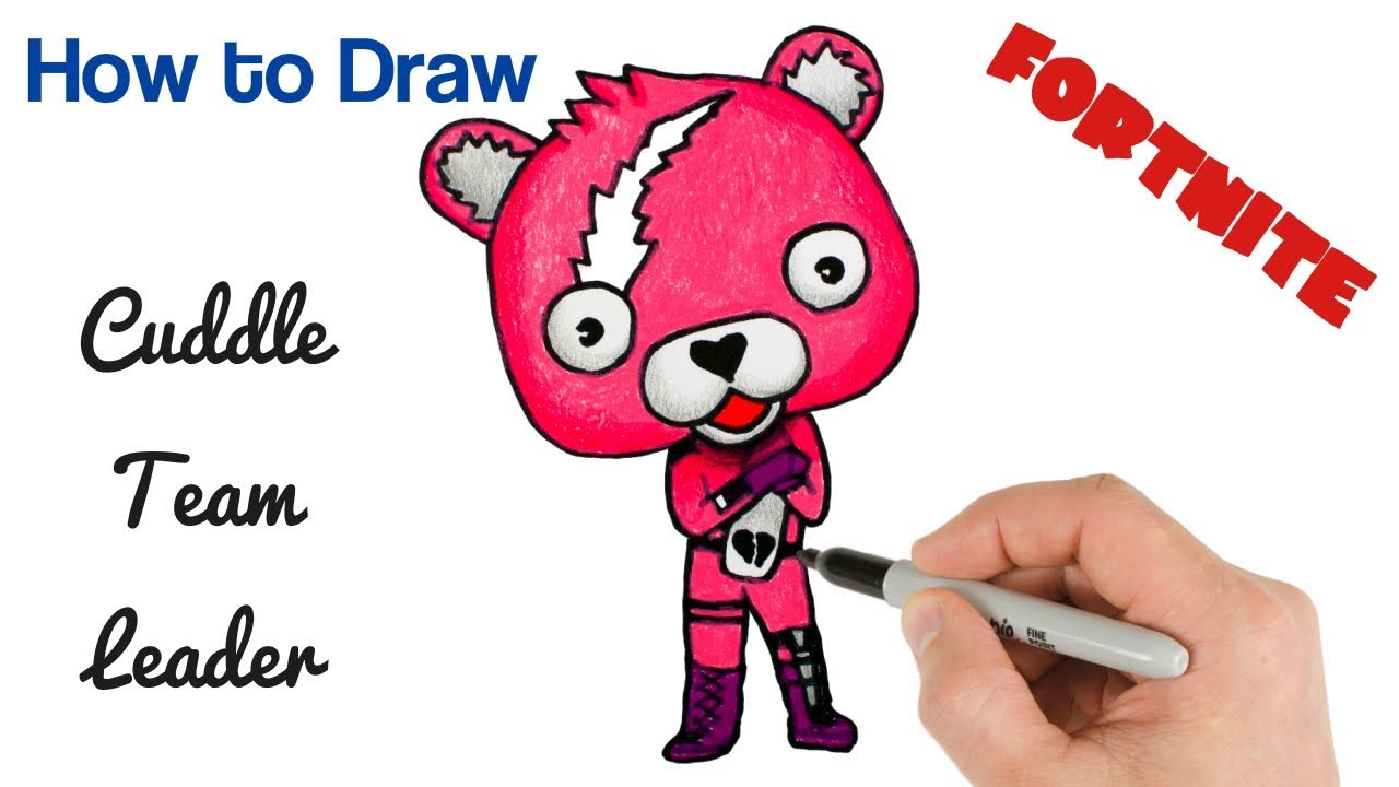 How to Draw PANDA Coloring Fortnite art for Kids - PageBD.Com