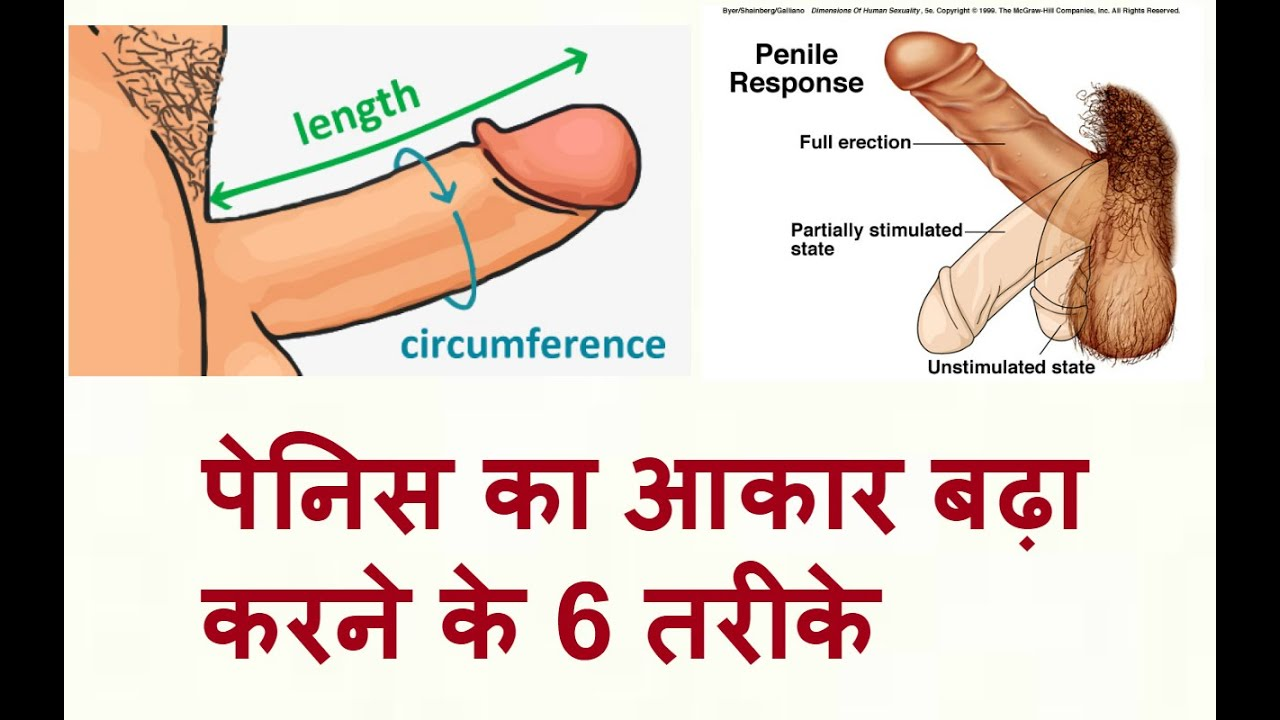 Ways increase to penis size